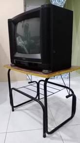 Tv kotak (rosak) & rak
