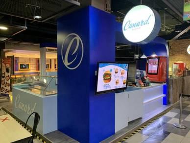 Canard eat&roll Kiosk at VIVACITY MEGAMALL