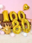 Giant numbering 40inch foil balloon