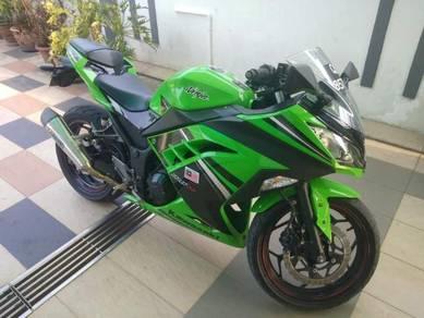 Kawasaki 250cc km super low