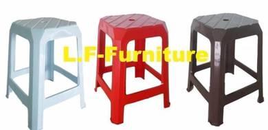 Bangku Plastik, Plastic Stool/square Plastic Chair