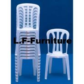 Kerusi Plastik sandar, Plastic Chair with backrest