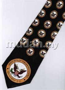 Great Seal USA Washington Army Novelty Neck Tie