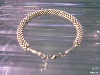 ABBSM-P004 Pretty Silver Plated HeavyType Bracelet