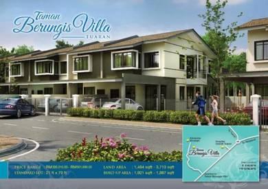 Taman Berungis Villa Tuaran Terrace House