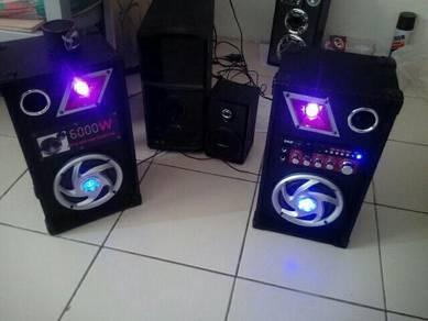 Set karaoke speaker nak let go murah2