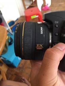 Sigma 30mm f1.4 nikon f mount