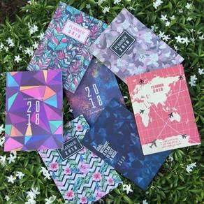 Buku Planner Colourfull 2018