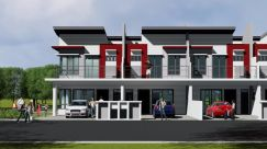 New Double Storey House In Seremban South