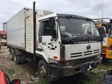 Nisssan diesel rg lorry coolbox 10tan