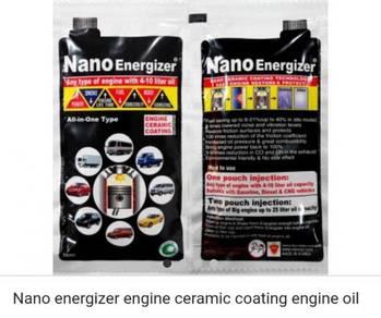 Nano energizer ceramic coating