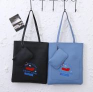 Tote Bag With Zip Coin Bag( BLSE 28648)