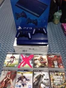 PS3 Super Slim Aviate Blue