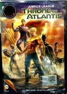 DVD ANIME DC Movie Justice League Throne of Atlant