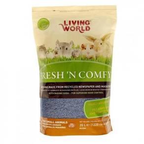 61266-Living World Fresh 'N Comfy Bedding - 20 L (