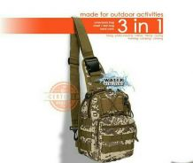 Shoulder Sling Army Bag