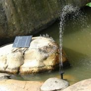 NEW Solar Powered Water Pump Pond Fountain