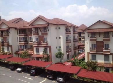 Gardenville Andari Townvilla Selayang Height for Sale