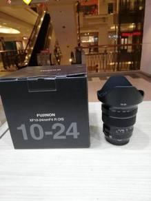 Fujifilm xf 10-24mm f4 r ois lens (99% new)