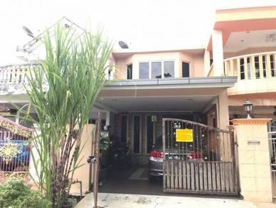 Two storey terrace house at taman jenaris, kajang