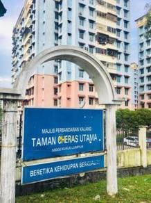 MURAH - HARGA TURUN - Pangsapuri Cheras Utama, Kuala Lumpur