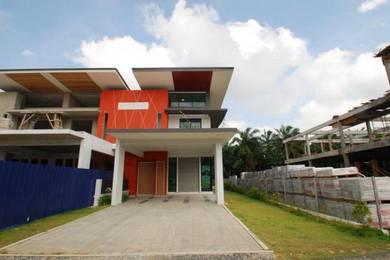 Rumah Teres Dua Tingkat Meru Zero Deposit