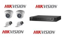 Hd hikvision cctv 2mp package installation 1mp