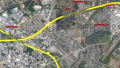 Pasir gudang highway 1.4 acres commercial land, pandan