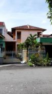 Double storey house in taman desa melor