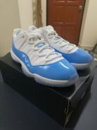 Air Jordan 11 low IV Columbia Blue/Legend Blue