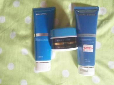 Royal Expert (Cleanser + Scrub + 3B Cream)