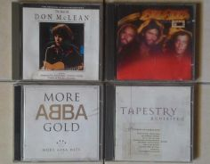 Dy CD ABBA Don McLean Bee Gees Tapestry Hits