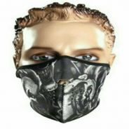 Outdoor Skull Neoprene Half Face Mask Ski Skate