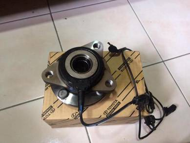Front sensor ABS LH with wheel bearing