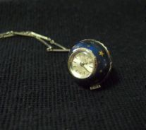 Vintage Blue Bucherer Pendant Ball Watch (1960s)