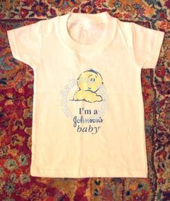 CuteTee - I am a Johnson's Baby