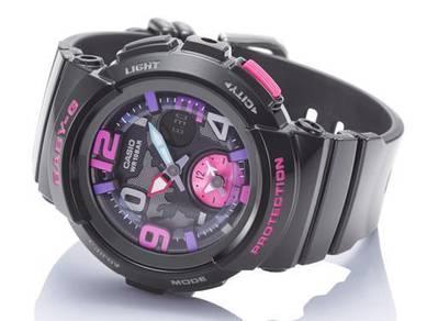Watch - Casio BABY G BGA190-1 BLACK PINK -ORIGINAL