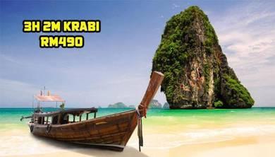 Pakej 3H 2M KRABI, THAILAND