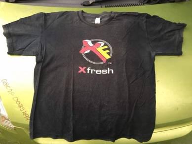 Baju band vintage X-Fresh FM