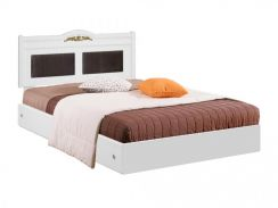 Katil kayu base bed bedframe perabot furniture 456