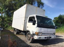 Nissan chassis cab yu41h4, 2002, diesel