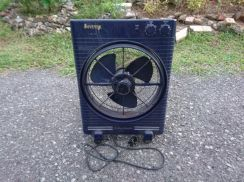 Kipas kotak box fan 3 speed oscillating timer