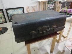 Vintage Antique metal luggage