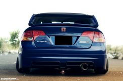 Honda Civic Fd Usdm Spec Rear Conversion