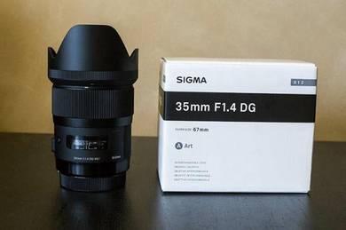 Sigma 35mm f1.4 for nikon