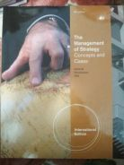 The management of stategy : concept and cases