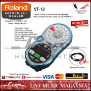 Roland VT-12 Vocal Trainer Effect Pedal,. (VT12)