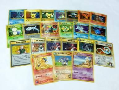 Pokemon Japanese 1996 Promos & Holos