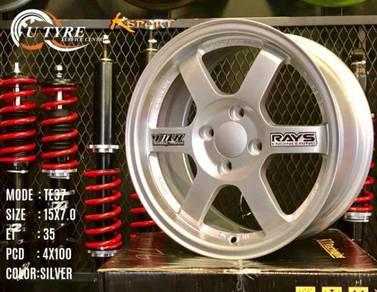 New 15 inch te37 japan design sport rim