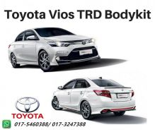 Toyota Vios TRD Bodykit with paint